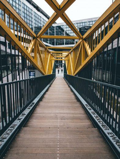 Stuttgart architectuur en brug
