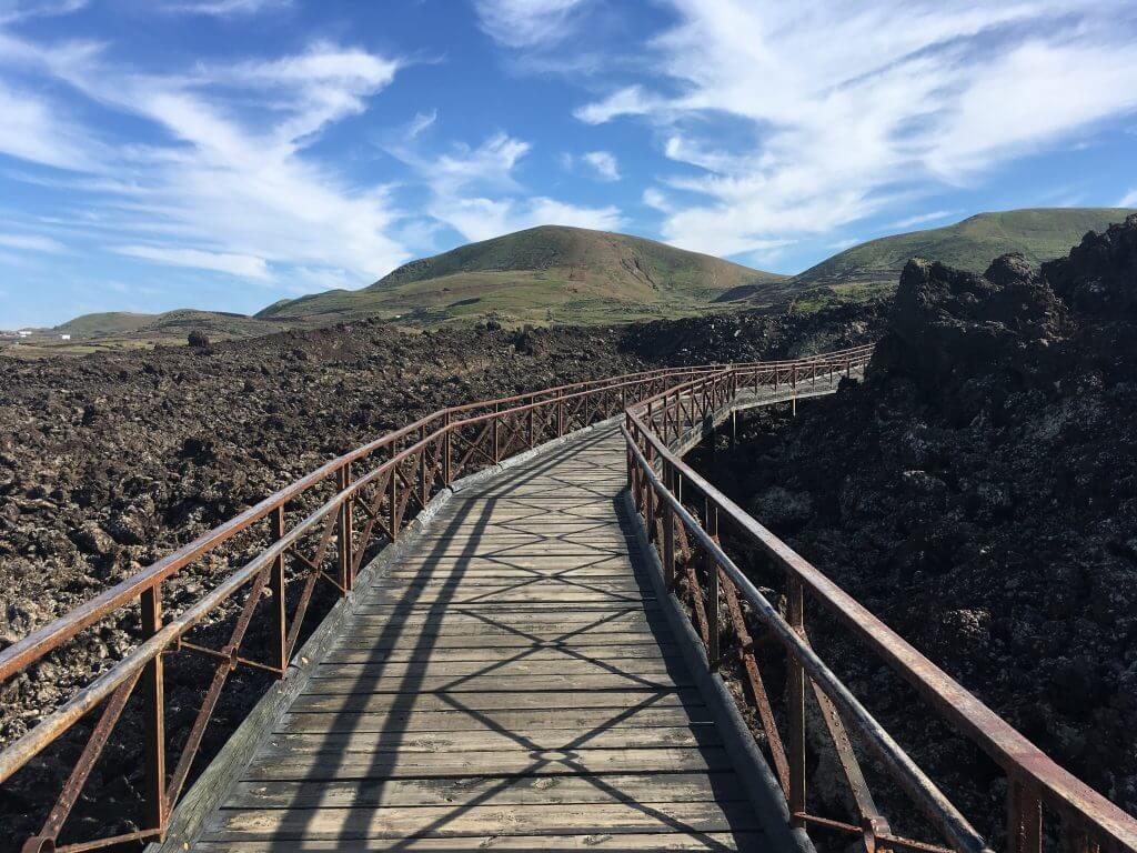 Omgeving van Lanzarote brug